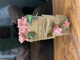 Wooden Crates with Flowers