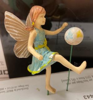 Fairy Jenna with a Ball